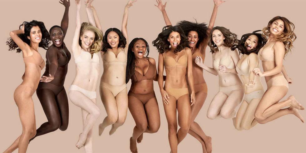 Виды женских трусов: Телесное белье для всех цветов кожи