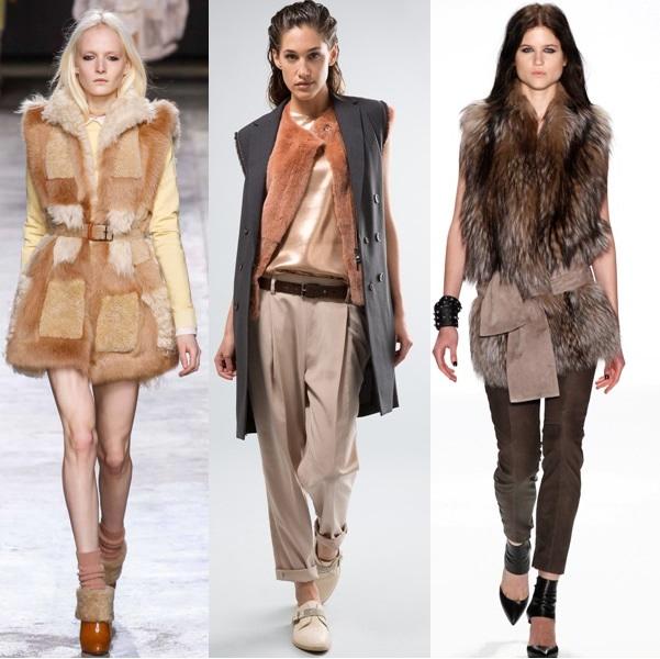 С чем и как носить пальто без рукавов? Подборка модных образов