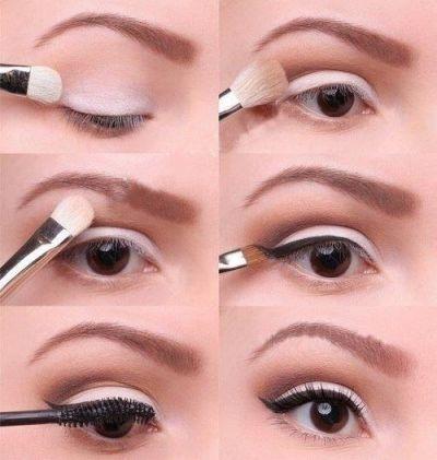Макияж для маленьких глаз (Фото и Видео)