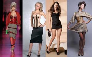 Как выбрать и с чем носить корсет? Фото